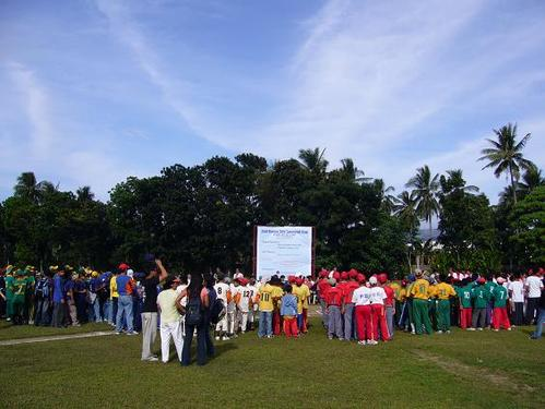 2nd Davao City Baseball Cup 開会式